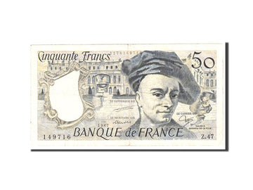 Banknote, France, 50 Francs, 1987, Undated, VF(30-35), Fayette:67.13, KM:152c