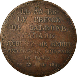 Coin, France, 5 Francs, 1825, Paris, EF(40-45), Bronze