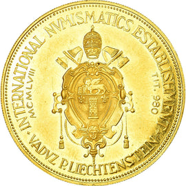 Vatican, Medal, International Numismatics Establishment, Lichtenstein, Giovanni