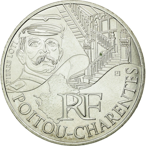 Coin, France, 10 Euro, 2012, MS(60-62), Silver, KM:1883