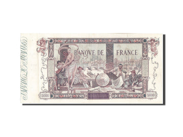 Banknote, France, 5000 Francs, 5 000 F 1918 ''Flameng'', 1918, 1918-01-19
