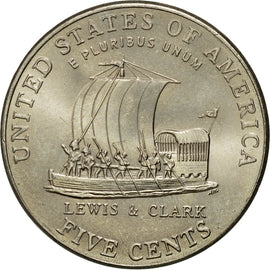 Coin, United States, Jefferson - Westward Expansion - Lewis & Clark