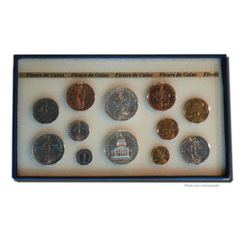 Coin, France, Set, 1987, Paris, MS(65-70), Gadoury:page 287
