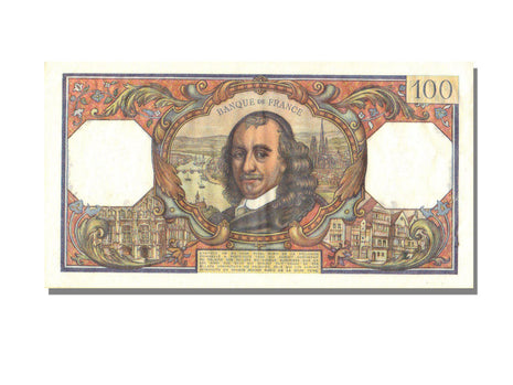France, 100 Francs, 100 F 1964-1979 ''Corneille'', 1965, KM #149a, 1965-12-02,..