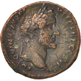Antoninus Pius, As, 138-161, Roma, VF(30-35), Bronze, RIC:823