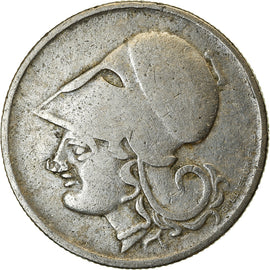 Coin, Greece, 50 Lepta, 1926, EF(40-45), Copper-nickel, KM:68
