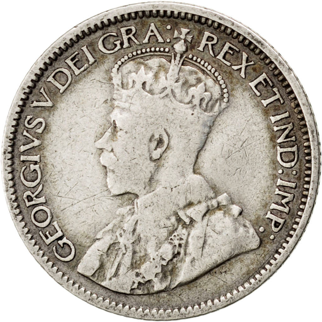 CANADA, 10 Cents, 1912, Royal Canadian Mint, KM #23, VF(30-35), Silver, 17.8,...