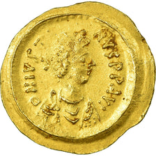 Coin, Justin II, Tremissis, Constantinople, AU(55-58), Gold, Sear:353