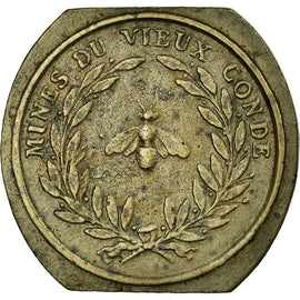 Coin, France, 10 Centimes, 1820, AU(50-53), Bronze