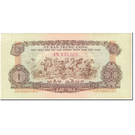 Banknote, South Viet Nam, 1 D<ox>ng, 1963, Undated (1963), KM:R4, AU(55-58)