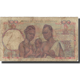 Banknote, French West Africa, 100 Francs, 1945, 1945-05-14, KM:40, VF(30-35)