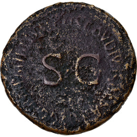Coin, Agrippina I, Sestertius, Roma, F(12-15), Bronze, RIC:102