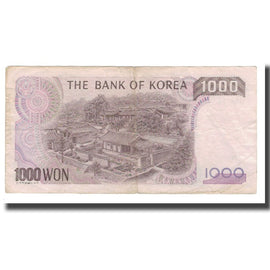 Banknote, South Korea, 1000 Won, Undated (1983), KM:47, EF(40-45)
