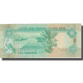Banknote, United Arab Emirates, 10 Dirhams, 2001, 2001, KM:20b, EF(40-45)