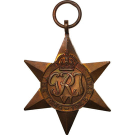 United Kingdom , 1939-45 Star, Medal, 1939-1945, Excellent Quality, Copper