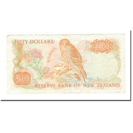 Banknote, New Zealand, 50 Dollars, KM:174a, EF(40-45)