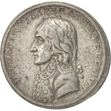 France, Token, The French Revolution, 1799, EF(40-45), Tin