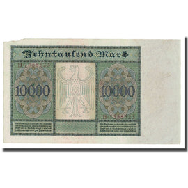 Banknote, Germany, 10,000 Mark, 1922, 1922-01-19, KM:70, VG(8-10)