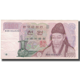 Banknote, South Korea, 1000 Won, KM:47, EF(40-45)
