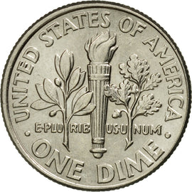 Coin, United States, Dime, 2015, U.S. Mint, AU(55-58), Copper-Nickel Clad Copper