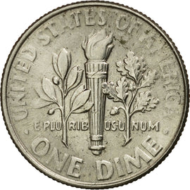 Coin, United States, Dime, 2015, U.S. Mint, EF(40-45), Copper-Nickel Clad Copper