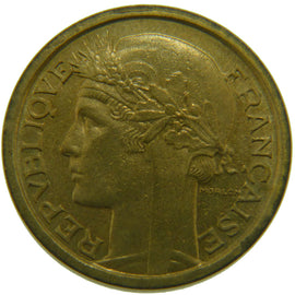 Coin, France, 2 Francs, 1931, MS(60-62), Aluminum-Bronze, Gadoury:535