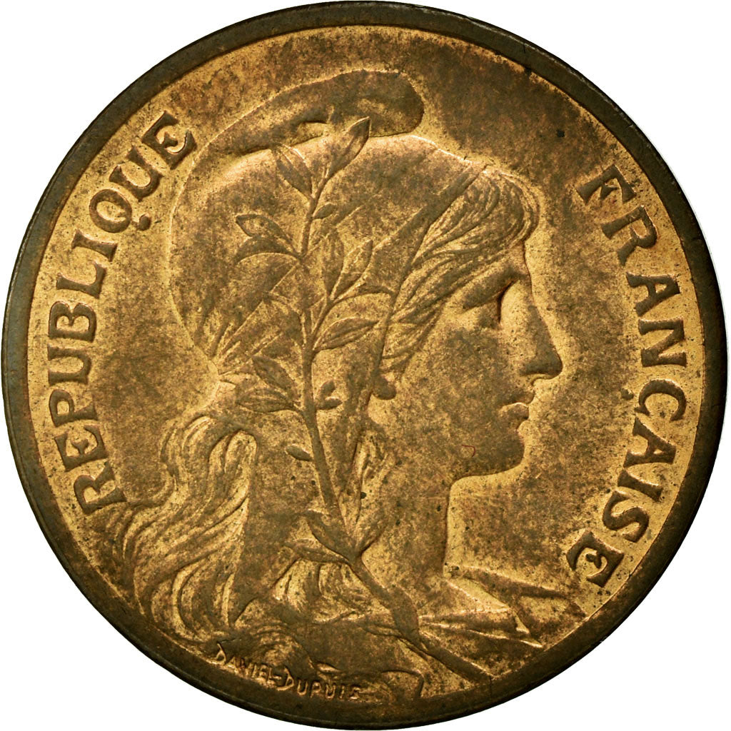 Coin, France, Dupuis, 5 Centimes, 1900, Paris, MS(60-62), Bronze, KM:842