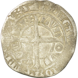 Coin, France, Flanders, Louis II, Gros, VF(20-25), Silver, Boudeau:2230