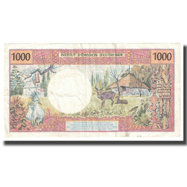 Banknote, French Pacific Territories, 1000 Francs, KM:2a, AU(55-58)