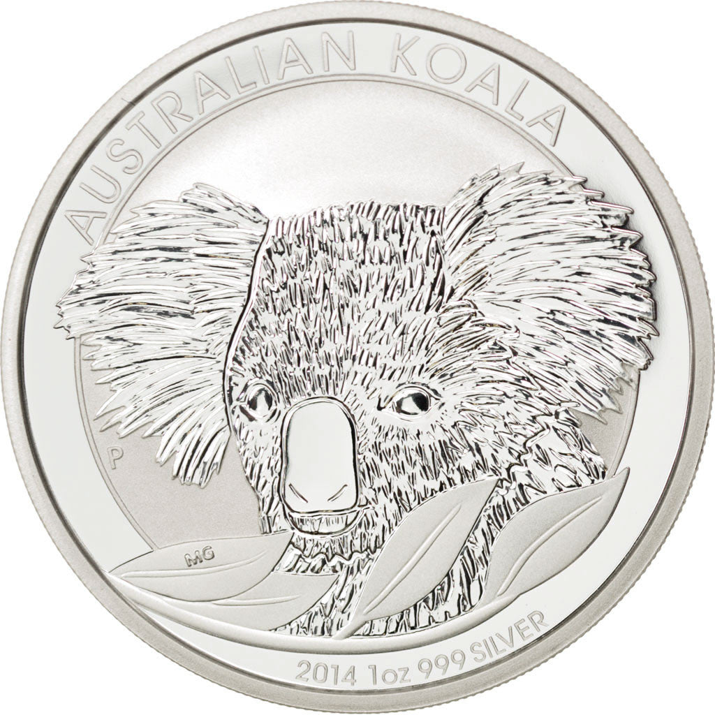 Australia, 1 Dollar, 2014, KM #New, MS(65-70), Silver, 31.30