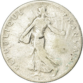 Coin, France, Semeuse, 50 Centimes, 1905, Paris, VF(20-25), Silver, KM:854