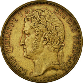 Coin, France, 1 Décime, 1839, AU(55-58), Brass