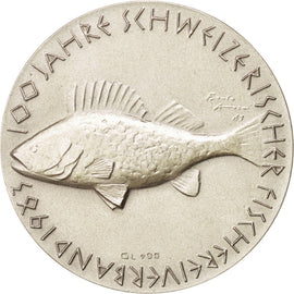 100th anniversary of Swiss fishermen's federation, Token