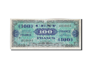 Banknote, France, 100 Francs, 1945 Verso France, 1944, EF(40-45)