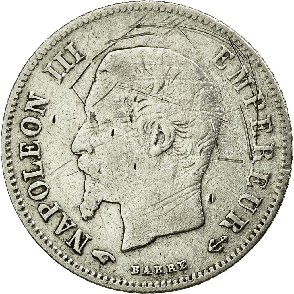 Coin, France, Napoleon III, Napoléon III, 20 Centimes, 1860, Paris, VF(30-35)
