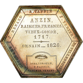 France, Token, Compagnie des Mines d'Anzin, Business & industry, 1835, Leveque