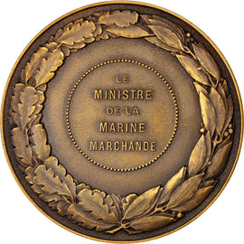 FRANCE, Shipping, French Fifth Republic, Medal, MS(60-62), Bronze, 68, 128.00