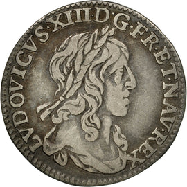 Coin, France, Louis XIII, 1/12 Ecu, 1642, Paris, 1er poinçon de Warin
