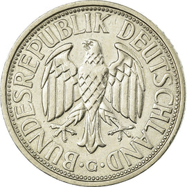 Coin, GERMANY - FEDERAL REPUBLIC, 2 Mark, 1951, Karlsruhe, MS(63)