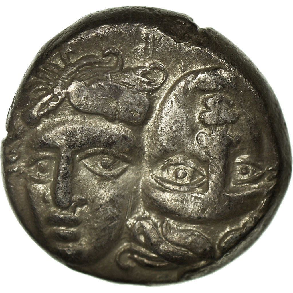 Coin, Thrace, Istros, Drachm, Istros, EF(40-45), Silver