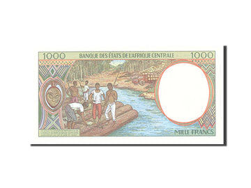 Banknote, Central African States, 1000 Francs, 1994, Undated, KM:502Nb