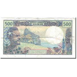 Banknote, French Pacific Territories, 500 Francs, KM:1b, VF(30-35)