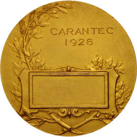 France, Carantec, Shipping, Medal, 1928, AU(55-58), By Monier, Bronze, 45mm
