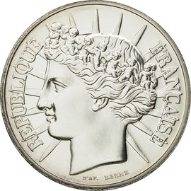 Coin, France, Fraternité, 100 Francs, 1988, Paris, MS(65-70), Silver, KM:966