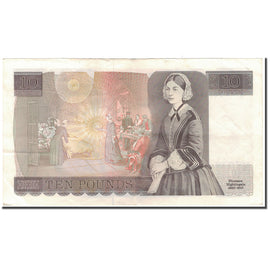 Banknote, Great Britain, 10 Pounds, KM:379c, EF(40-45)