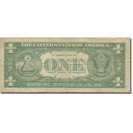 Banknote, United States, One Dollar, 1963, KM:1484, VF(20-25)