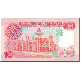 Banknote, Malaysia, 10 Ringgit, 1989, Undated (1989), KM:29, UNC(65-70)