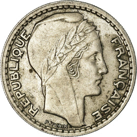 Coin, France, Turin, 10 Francs, 1945, Paris, Rameaux courts, EF(40-45)