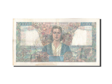 France, 5000 Francs, 5 000 F 1942-1947 ''Empire Français'', 1947, KM:103e, 1...
