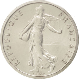 Coin, France, 1/2 Franc, 1968, MS(65-70), Nickel, KM:P398, Gadoury:91.P1